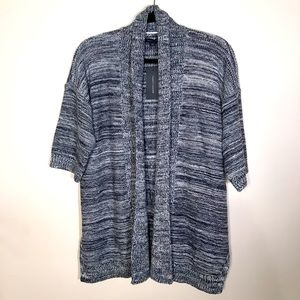 Tommy Bahama ombré cotton shawl front cardigan xss